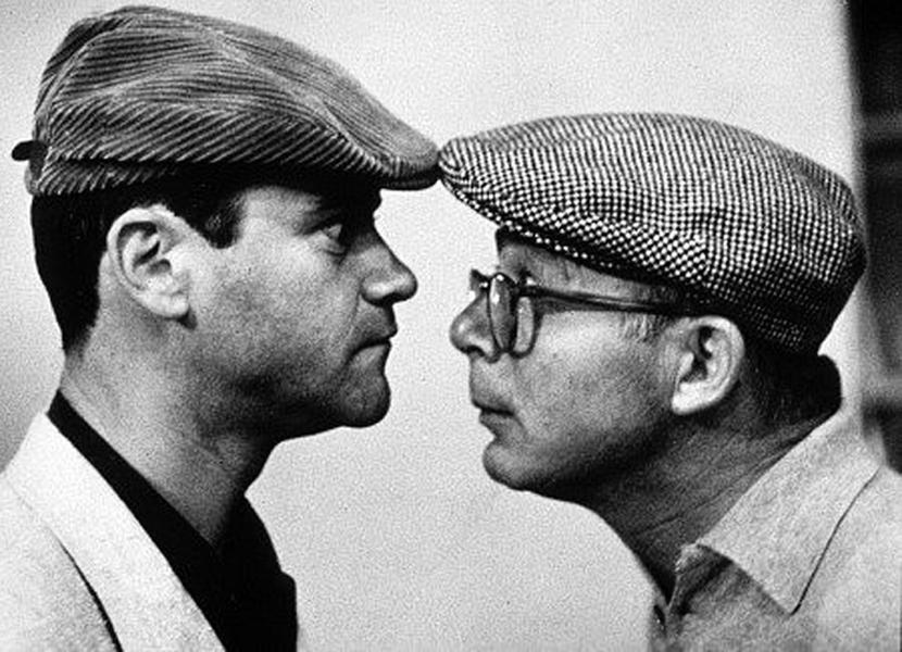 Jack Lemmon e Billy WIlder